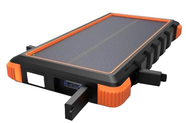 Solární powerbanka VIKING W10 10000mAh